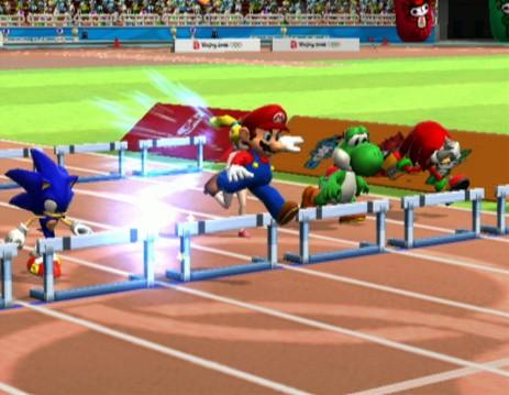 """Zum Themendienst-Bericht """"Multimedia/Spiele/"""" vom 25. Oktober: Wenn Pixel-Stars um Medaillen kämpfen: Bei «Mario & Sonic bei den Olympischen Spielen» treten die beiden Figuren erstmals gemeinsam in einem Spiel auf. (Die Veröffentlichung ist für dpa-Themendienst-Bezieher honorarfrei. Quellenhinweis: """"Sega/dpa/tmn"""") +++ +++"""