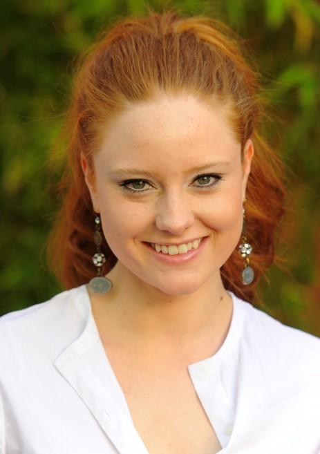 Schön und klug: das Model Barbara Meier im Juni 2011 (Bild: dpa)