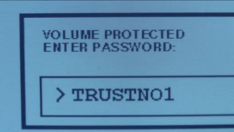 Mulder setzt auf total narrensichere Passwörter.
