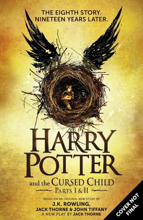 HANDOUT - Das vorläufige Buchcover des im britischen Verlag «Little, Brown Book Group Limited» erscheinenden Buches «Harry Potter and The Cursed Child» («Harry Potter und das verwunschene Kind») der britischen Autorin Joanne K. Rowling (undatierte Aufnahme). Foto: Little, Brown Book Group Limited/dpa (zu dpa «Harry Potter und kein Ende - neues Buch kommt im Juli» vom 11.02.2016 - ACHTUNG: Nur zur redaktionellen Verwendung in Zusammenhang mit der Berichterstattung über das genannte Buchund nur bei vollständiger Nennung der Quelle: «Foto: Little, Brown Book Group Limited/dpa») +++(c) dpa - Bildfunk+++ |