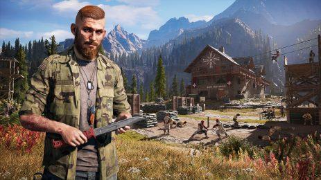 """Far Cry 5: Wetzt die Messer im beschaulichen Montana: Jacob Seed von der Sekte """"Eden's Gate"""""""