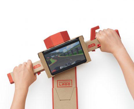 Mit Nintendo Labo können Gamer basteln und Videospiele spielen