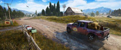 Montana, wie es leibt und lebt: Mitten im ländlichen Nirgendwo haben sich die Bösewichte der Sekte breitgemacht.